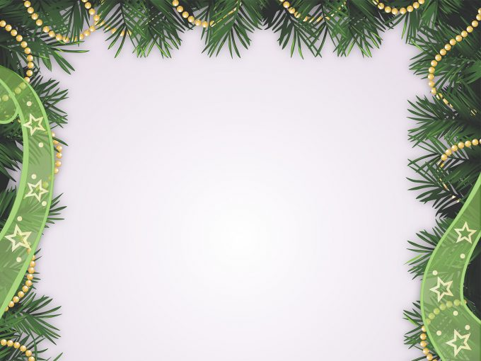 2017 Happy Christmas Holidays PPT Backgrounds