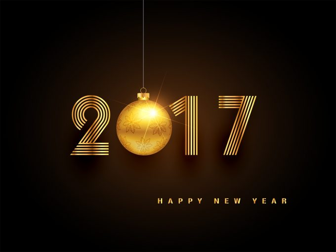 Welcome New Year 2017 PPT Backgrounds
