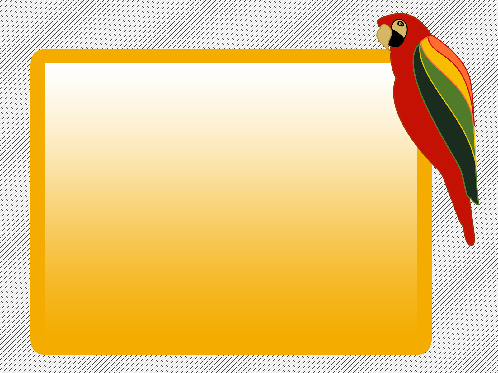 Parrot Bird PPT Backgrounds