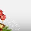 Realistic Christmas Balls Backgrounds
