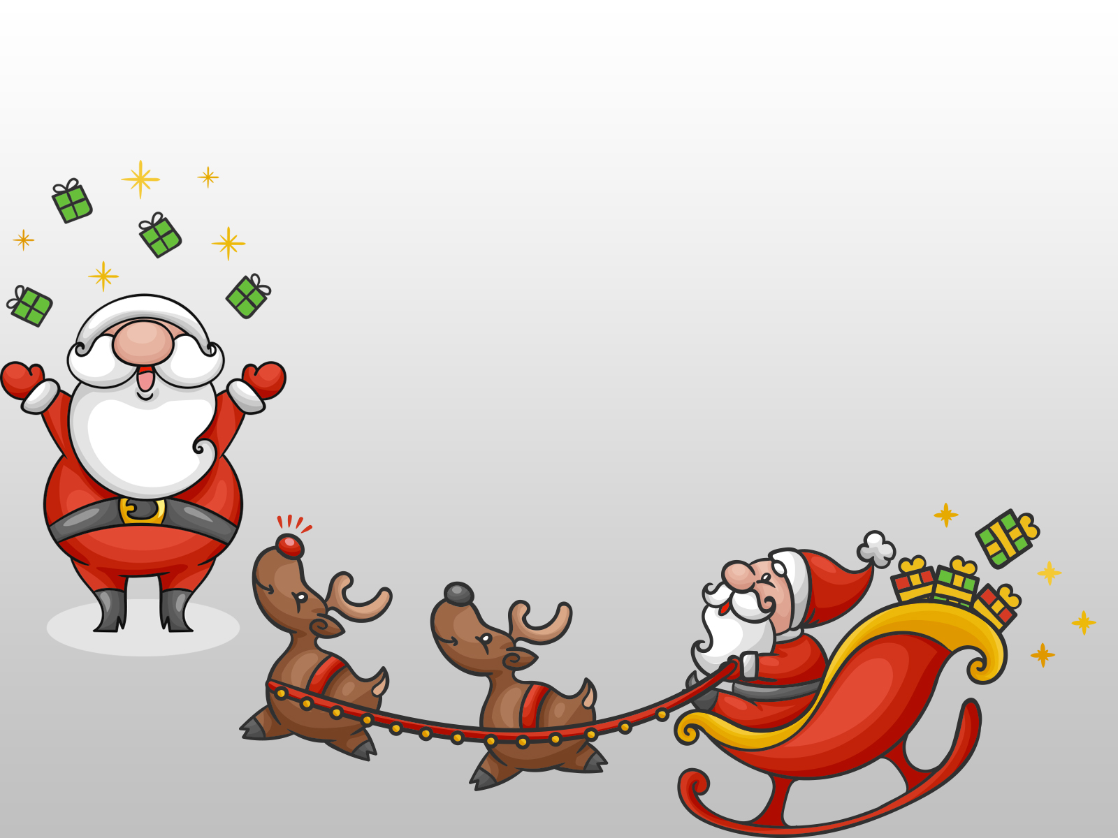 Santa Claus 2017 PPT Backgrounds