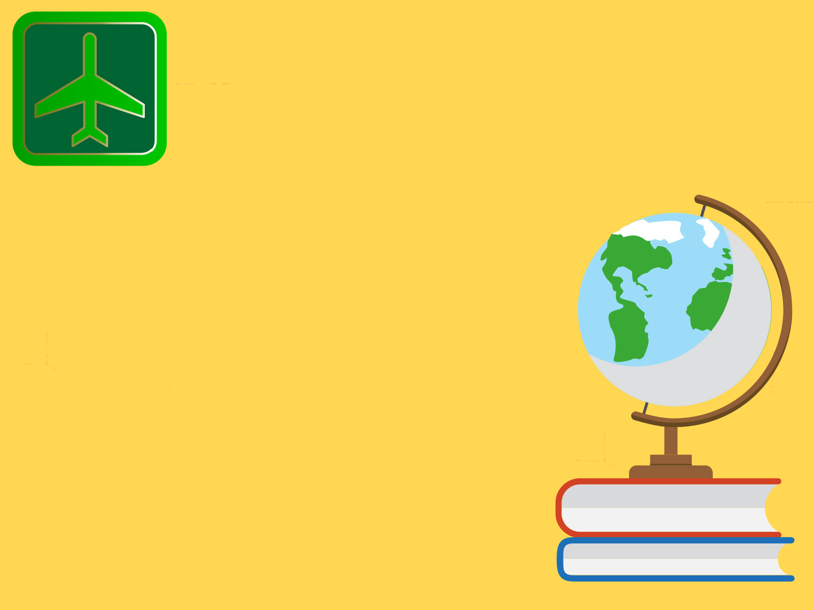 air travel backgrounds business green yellow templates