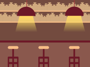 Airy Restaurant Backgrounds