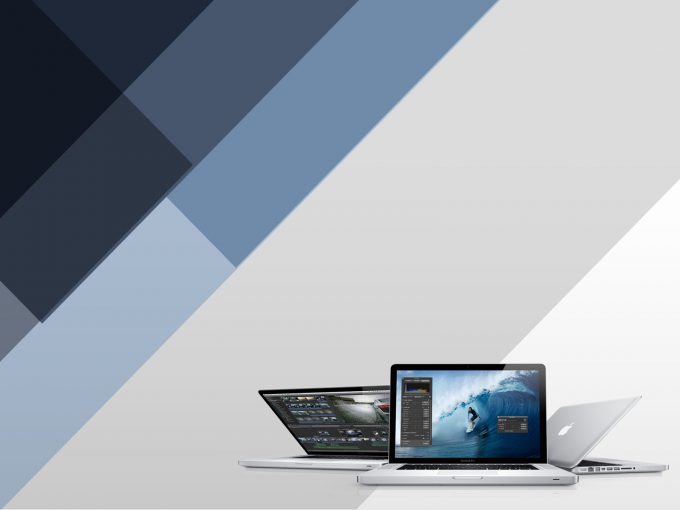 Apple Macbook Pro PPT Backgrounds