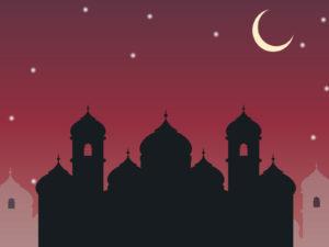 Arabic City Powerpoint Templates