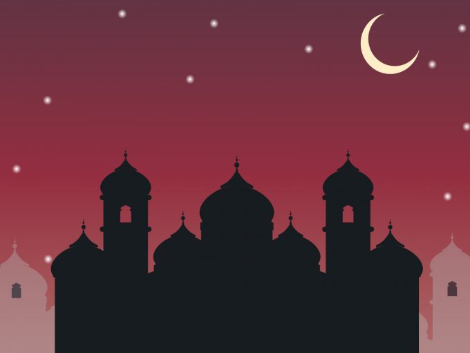 Arabic City PPT Backgrounds
