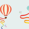 Balloon Travel PPT Background