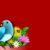 Birds Flowers PPT Backgrounds