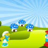 Cute Smurfs PPT Background