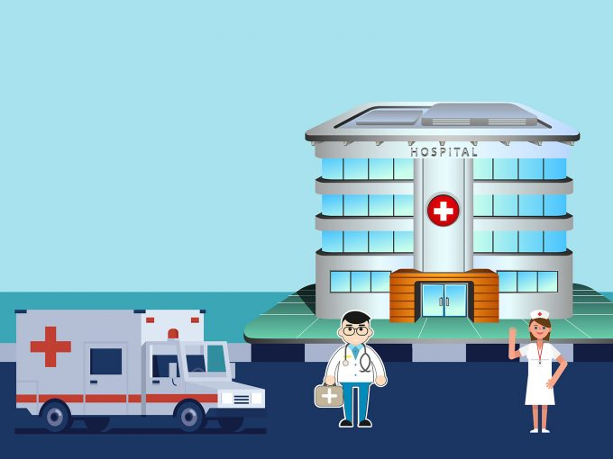 Doctor and Nurse at the Hospital PPT Backgrounds