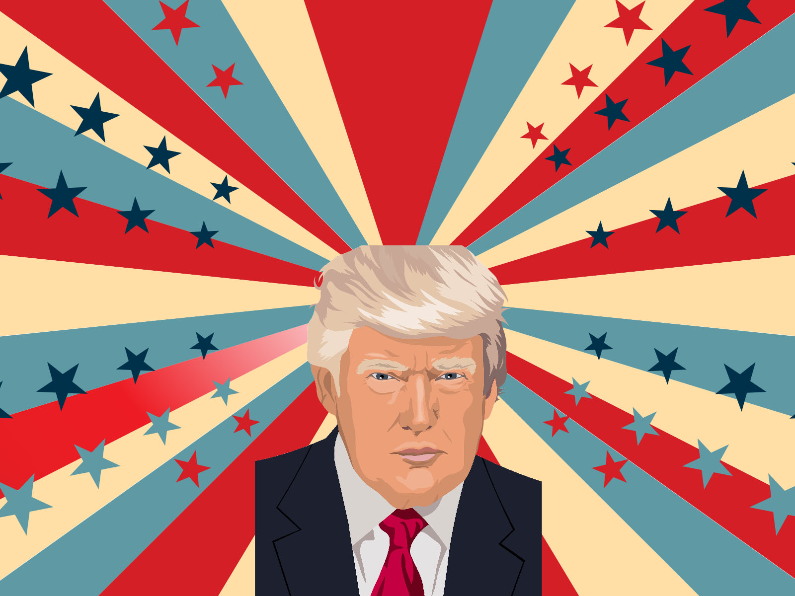 Donald Trump PPT Background
