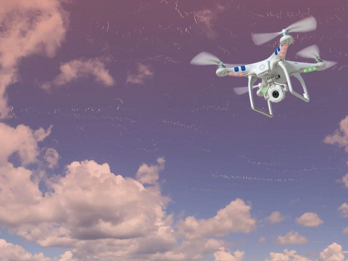 Drones Flying PPT Backgrounds