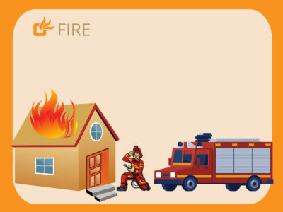 Fire Extinguishing PPT Background