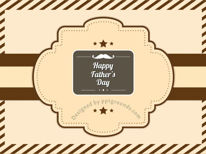 Happy Father's Day PPT Backgrounds