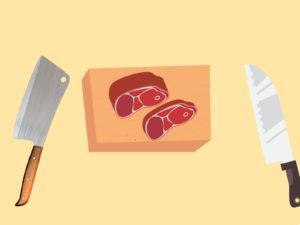 Kitchen Knives Set Backgrounds