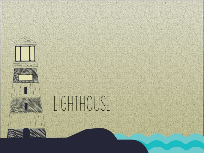 Lighthouse PPT Backgrounds