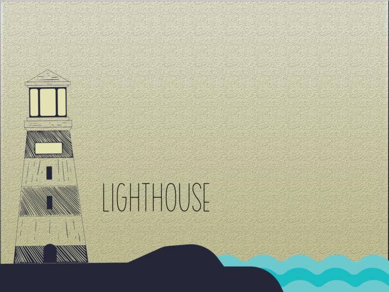 Lighthouse PPT Background PPT Background