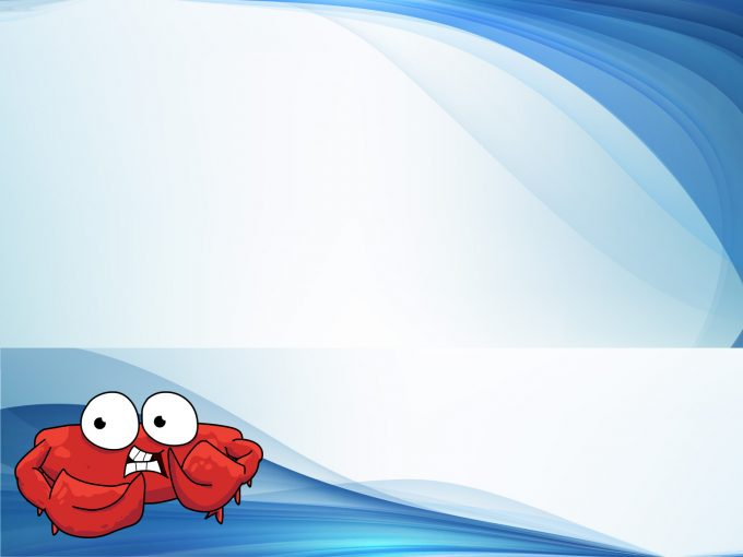 Lonely Crab PPT Backgrounds