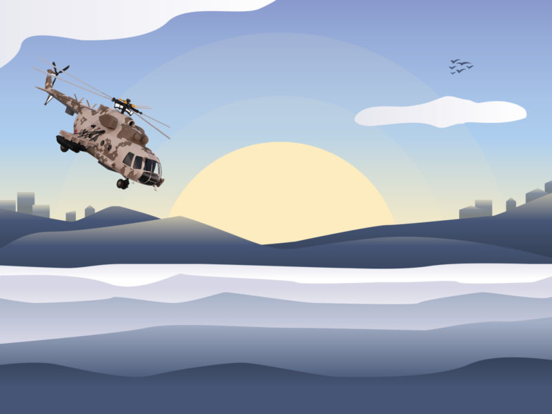 Military Operation Powerpoint Backgrounds