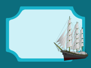 Oceanic Frigate Powerpoint Backgrounds
