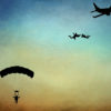 Parachute Jumping PPT Background