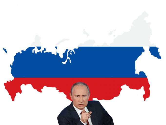 President Putin PPT Backgrounds