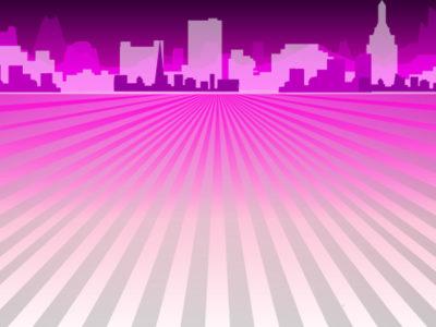 Purple Columns Powerpoint Backgrounds