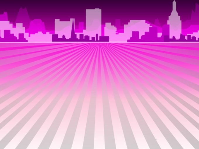 Purple Columns PPT Backgrounds