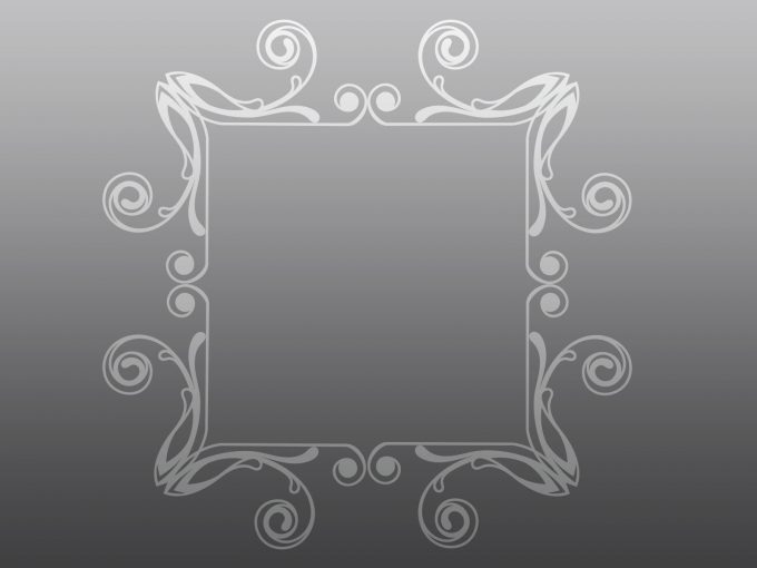 Rectangular Abstract Frame PPT Backgrounds