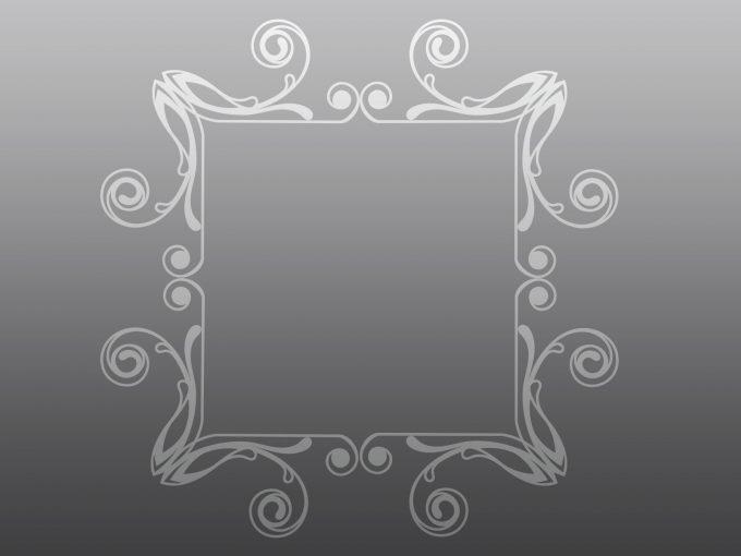 Rectangular Frame PPT Backgrounds