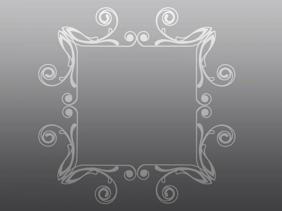 Rectangular Abstract Frame