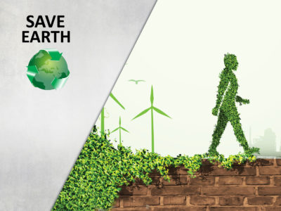 Save Earth PPT Background