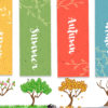 Season of Trees PPT Background
