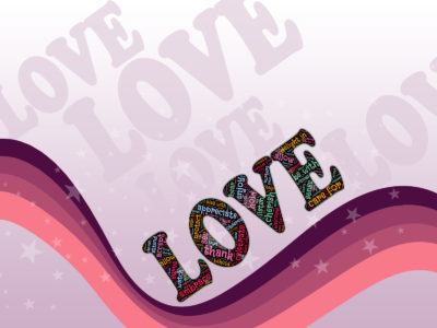 Stars of Love PPT Backgrounds