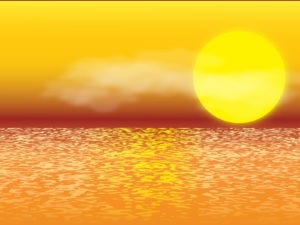 Sunset Illustration Backgrounds