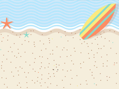 Sweet Beach Powerpoint Backgrounds