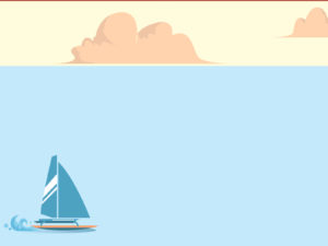 Water Racing Powerpoint Backgrounds