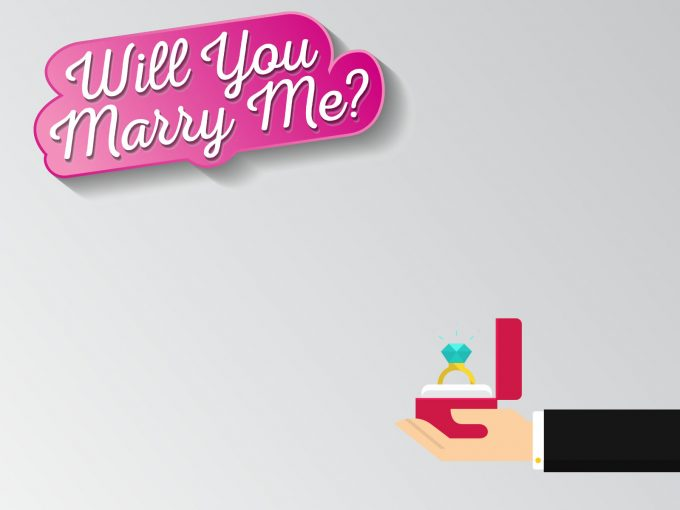 Will You Marry Me? PPT Backgrounds