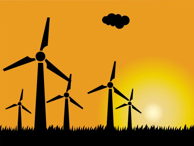 Wind Power PPT Backgrounds