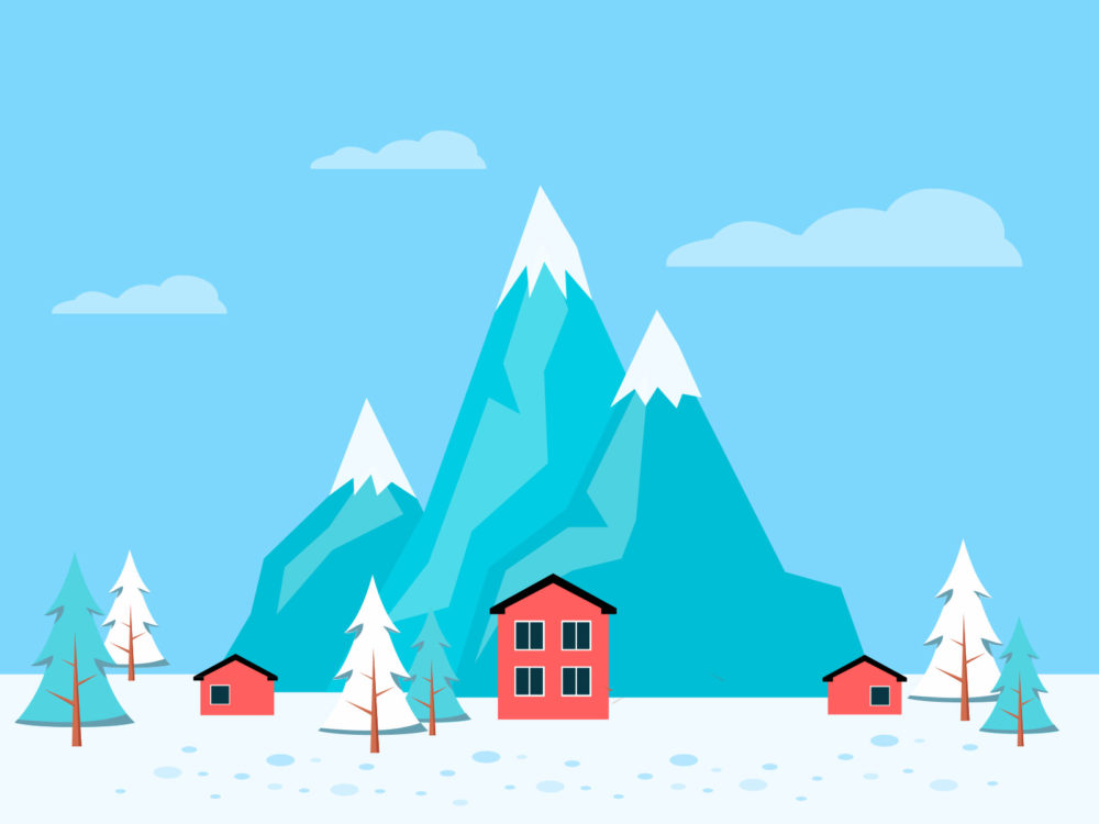 winter powerpoint backgrounds