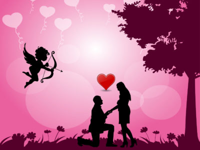 Angel of Love Powerpoint Templates