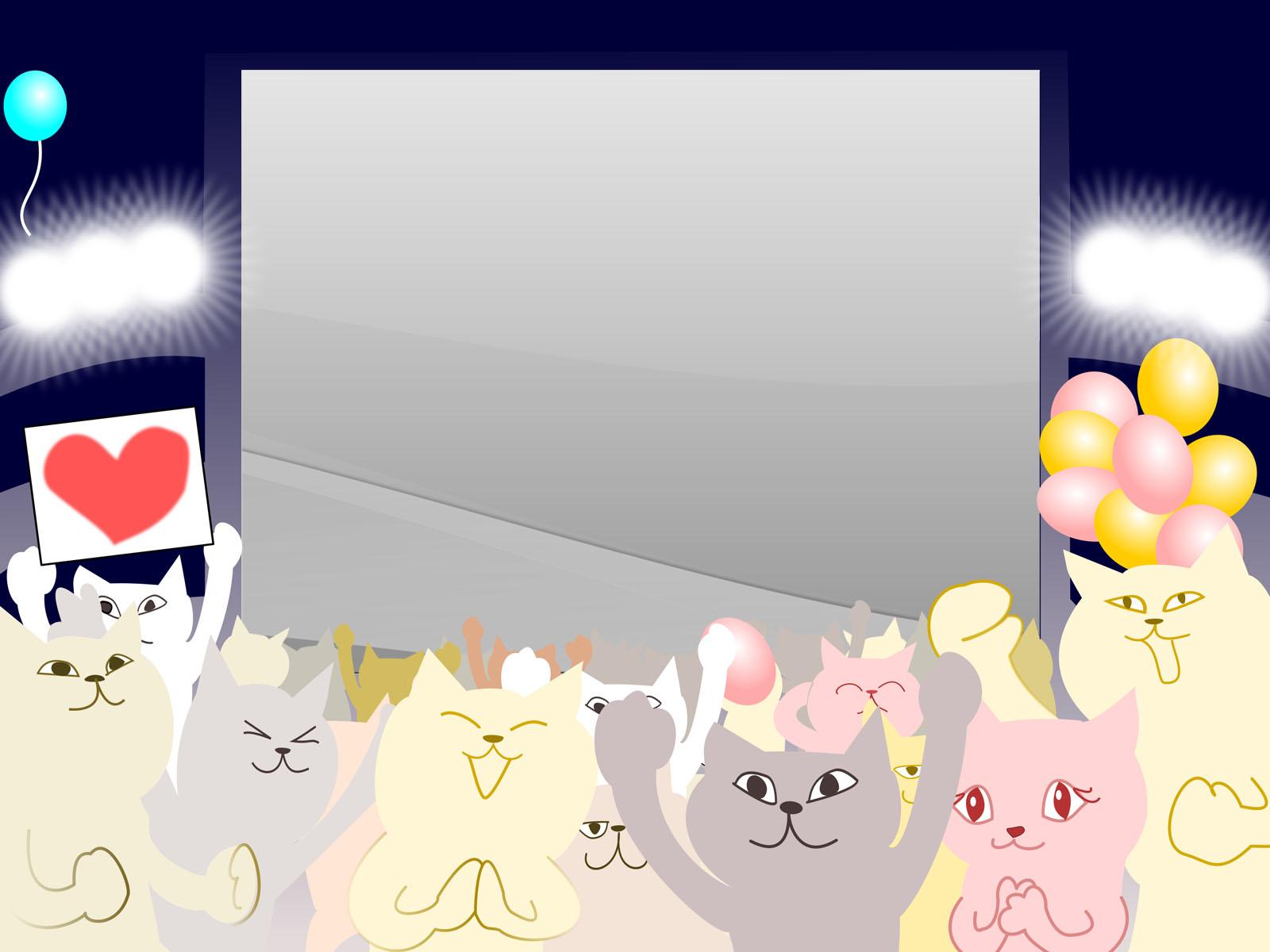 Animal Photo Frame PPT Backgrounds