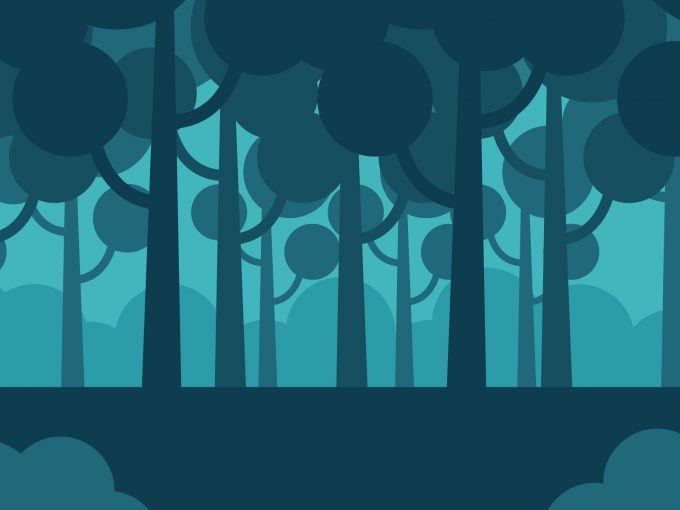 Avatar Forest PPT Backgrounds