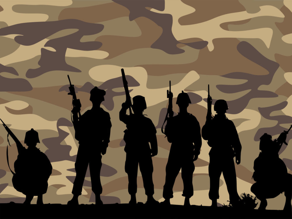 Band of brothers army ppt backgrounds business multi color normal resolution toneelgroepblik Gallery