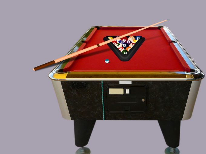 Billiard Game PPT Backgrounds