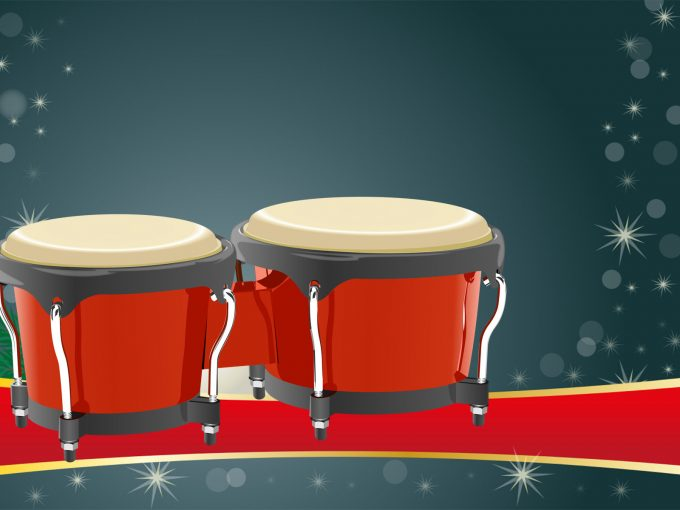 Bongos Instrument PPT Backgrounds