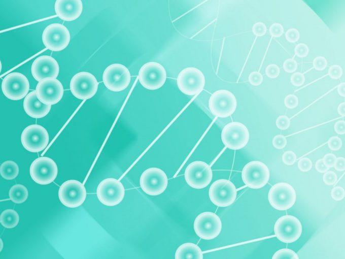 DNA Molecules of Biyology PPT Backgrounds