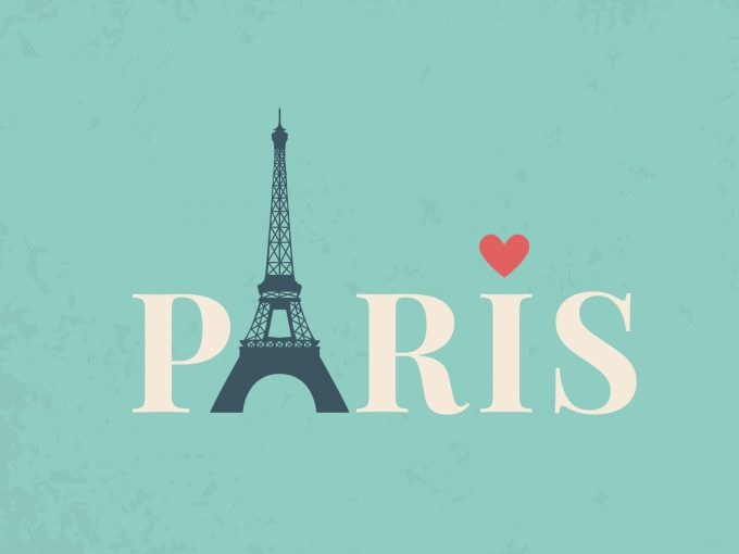 Eiffel Tower PPT Backgrounds