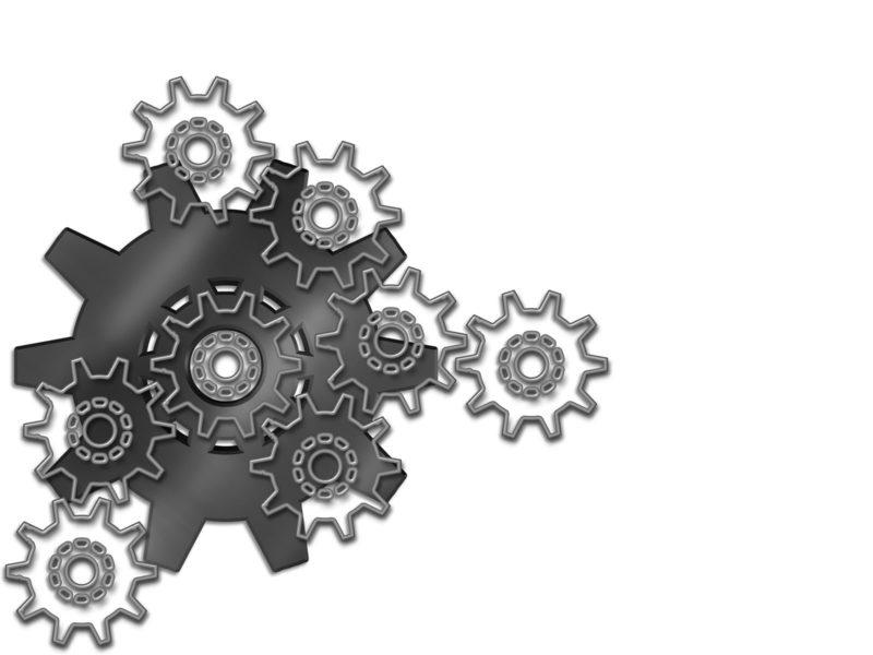 Engineering Gears Powerpoint Templates