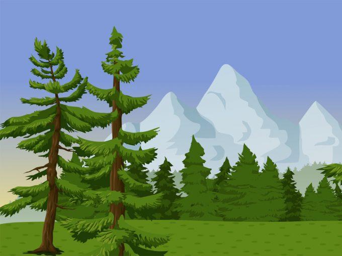 Everygreen Landscape PPT Backgrounds